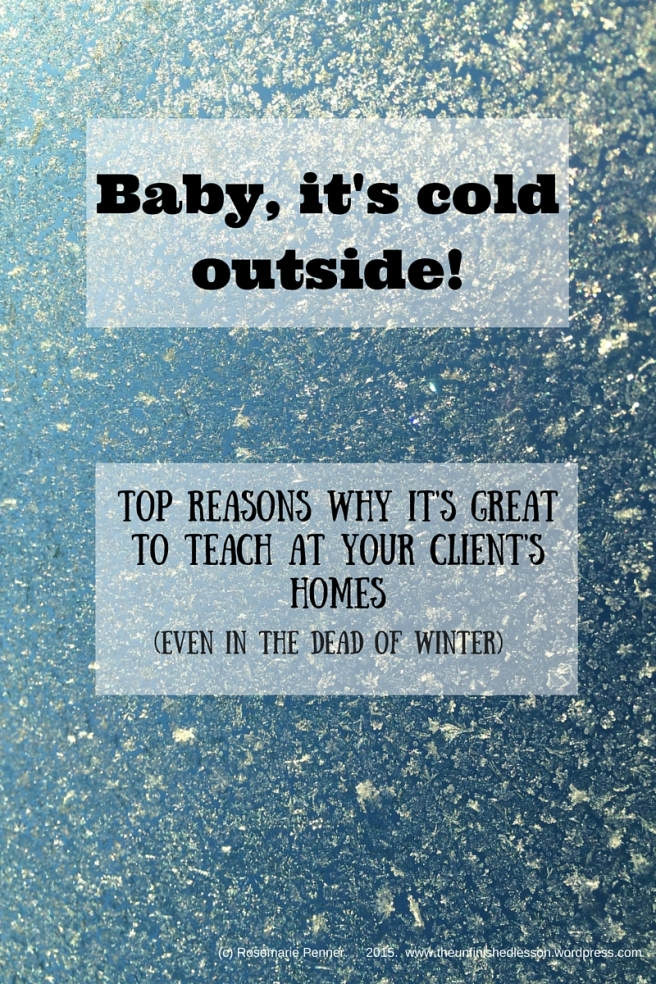 Top reasons to teach at your client's homes