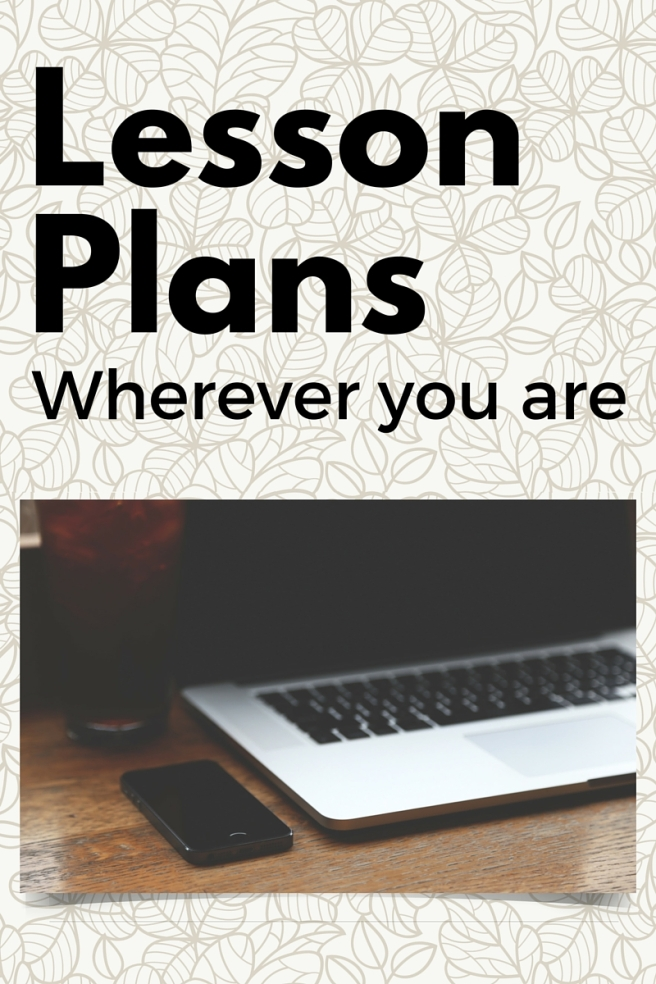 Lesson Plans - Wherever You Are
