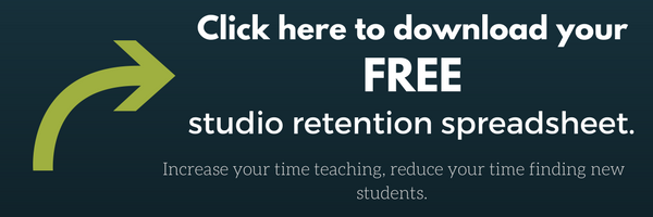 Click here to download your FREE studio retention spreadsheet.