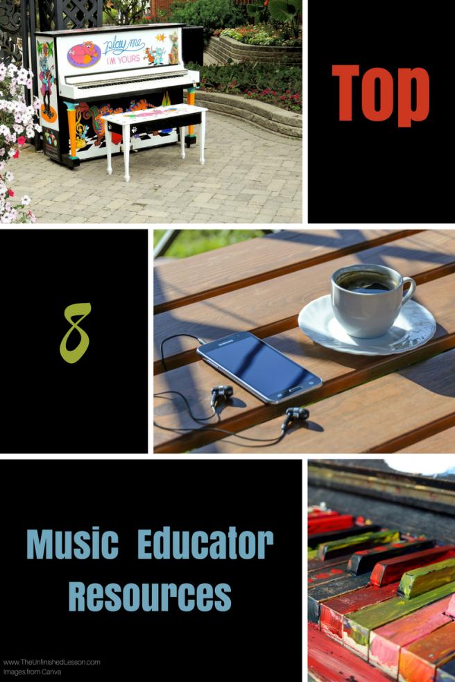 Top 8 Music Educator Resources